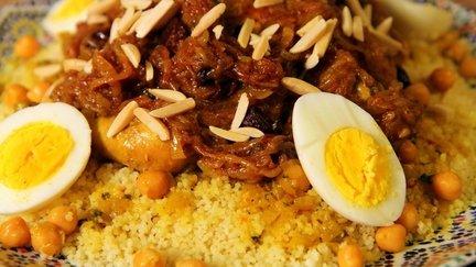 164 – Couscous Tfaya (Caramelized Onions) Recipe