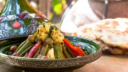 442 – Berber Vegetable Tagine / طاجين بالخضر