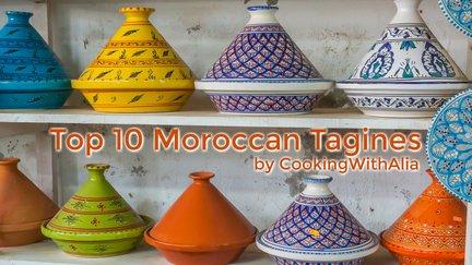 450 – blog – Top 10 Moroccan tagines / أفضل ١٠ طواجين مغربية