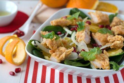 473 – KFC Fruity Chicken Salad / سلطة بالفواكه ودجاج كنتاكي