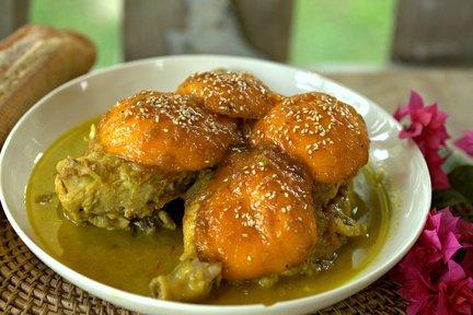 479 – Chicken Tagine with Caramelized Mango / طاجين الدجاج بالمانجو