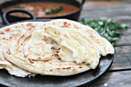 570- Indian Paratha / خبز البراتا الهندي