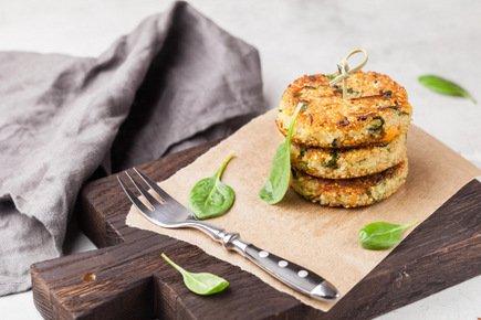633- Quinoa Fritters / فطائر الكينوا