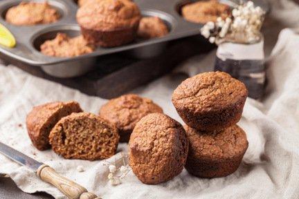 615- Oatmeal Muffin / مافن كيك بالشوفان