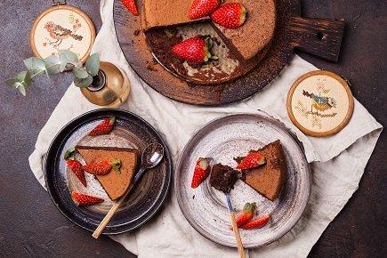 639- Flourless Chocolate Cake / كيكة الشوكولاتة بدون غلوتين