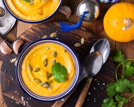 722- Pumpkin Soup / حساء القرع الأحمر