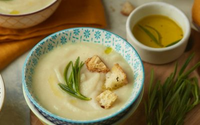 789- Cauliflower and Potato Veloute / شربة الشيفلور والبطاطس