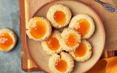 912- بسكويت ببذور السمسم / Sesame Cookies