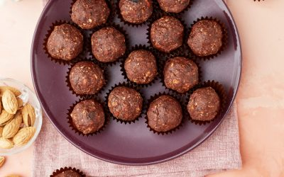 907- No-Bake Chocolate & Nut Balls / كرات الشوكولاتة والمكسرات بدون فرن