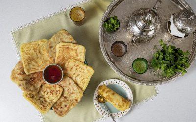936- Moroccan Crepes (Msemmen) / مسمن