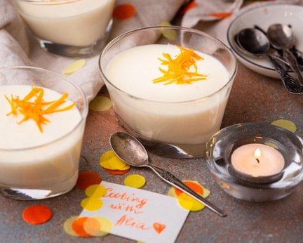 291 – Orange Blossom White Chocolate Mousse / شوكولا موس البيضاء بزهر البرتقال
