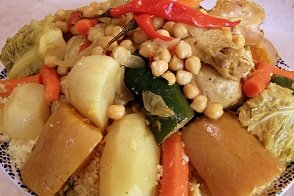 099 – Moroccan Couscous with Vegetables