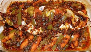 055 – Moroccan Baked Fish with Charmoula