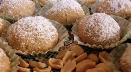 117 – Moroccan Peanut Cookies Recipe – Gluten Free Version