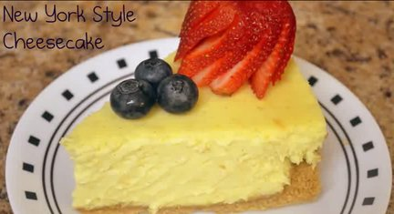 143 – New York Style Cheesecake Recipe – July 4th Special!