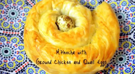 145 – Mhencha with Ground Chicken and Quail Eggs Recipe – Ramadan Special!