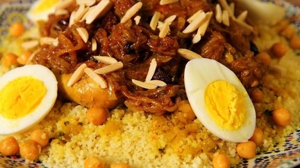 164 – Couscous Tfaya (Caramelized Onions) Recipe