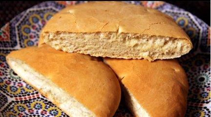 177 – Khobz – Moroccan White Bread Recipe