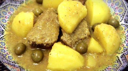 201 – Moroccan Beef Tajine with Potatoes Recipe