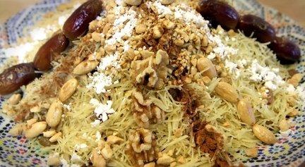 205 – Moroccan Chicken Vermicelli (Seffa Medfouna)
