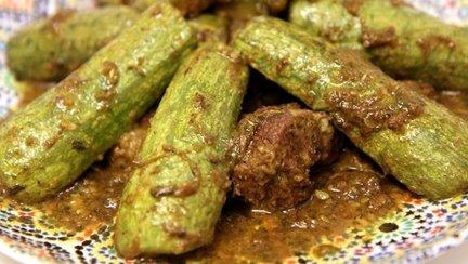 245 – Beef Zucchini Tagine / طاجن الكوسة واللحم