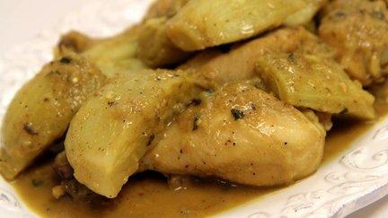 253 – Tagine of Chicken with Fennel / طاجين الفراخ بالشمر