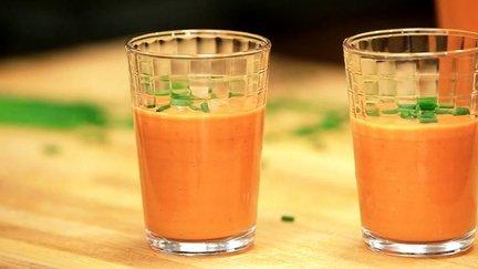 262 – Chilled Tomato Gazpacho / جازباتشو الطماطم