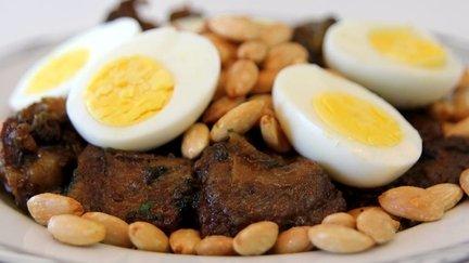 279 – Meat Tagine Tfaya Recipe / طاجين اللحم بالتفاية
