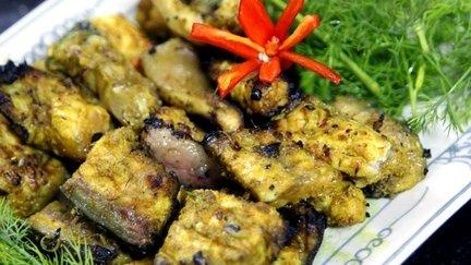 296 – Grilled Fish Hanoi Style – Vietnamese Recipe / سمك مشوي بطريقة هانوي