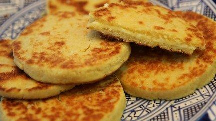 79 – Harcha – Moroccan Semolina Bread