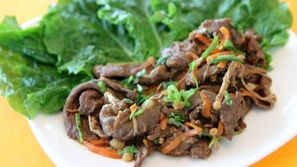 319 – Korean Bulgogi – Marinated Beef / البولجوجي الكوري