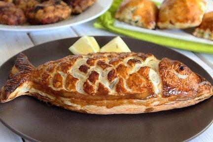 330 – Puff Pastry Fish / معجنات الأسماك