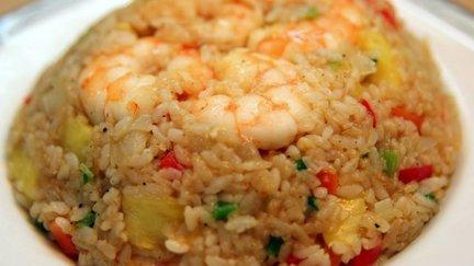 343 – Shrimp Fried Rice – Thai Recipe / وصفة الأرز والجمبري المقلي