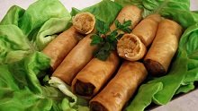 096 – Moroccan Spring Rolls with Tuna and Potatoes