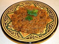 047 – Zaalouk – Moroccan Eggplant Salad