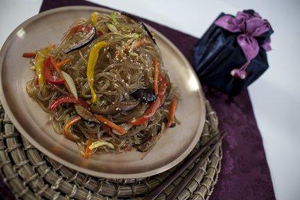 375 – Korean Japche (fried noodles) Recipe / المعكرونة المقلية الكورية