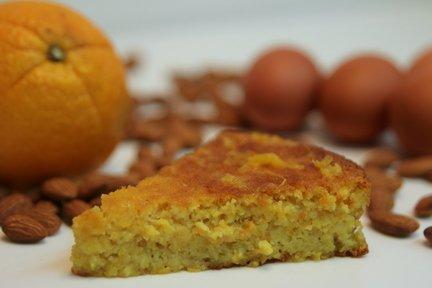 378 – Moist Orange Cake Recipe (Gluten Free) / كعكة البرتقال رطبة