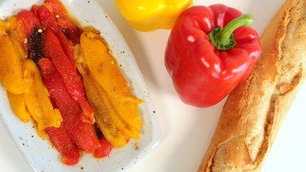 396 – Moroccan Roasted Pepper Salad /سلطة الفلفل