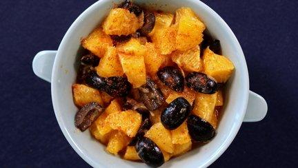 399 – Moroccan Spicy Orange Salad / سلطة البرتقال الحارة