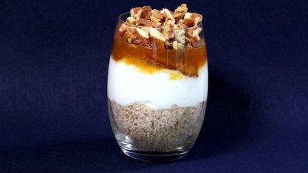 427 – Breakfast Couscous Parfait / كسكس بارفي