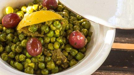 437- Beef Tagine with Green Peas / طاجين اللحم و الجلبانة