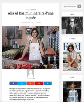 Alia featured in Femmes Du Maroc