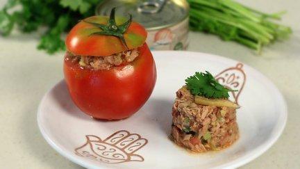 456 – Fancy Tuna Salad / سلطة التونة الرائعة
