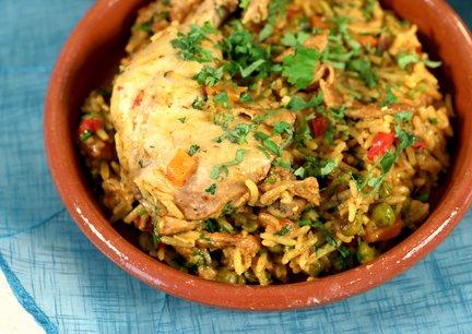 459 – Chicken Rice / الأرز بالدجاج