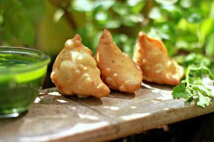 483- Vegetarian Samosa / الساموسا بالخضر