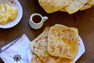 510- Msemen, Moroccan Square Pancakes / مسمن، الكريب المغربي المربع
