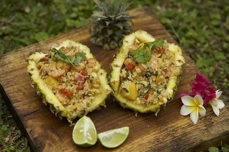 522- Pineapple Fried Rice / الأرز بالأناناس