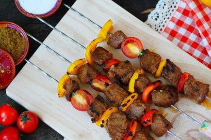 561- Kabab Skewers / أسياخ لحم الخروف