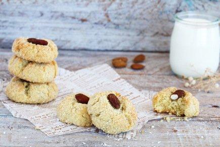 554- Coconut Ghriba – Gluten Free / غريبة جوز الهند بدون غلوتين