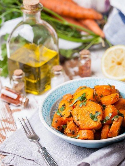 575- Carrot Salad / سلطة الجزر
